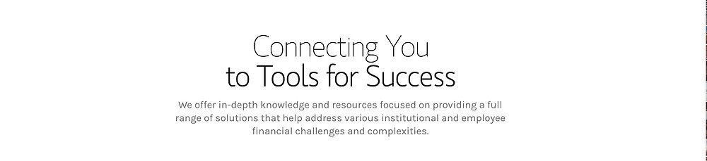 Connecting you to tool for success