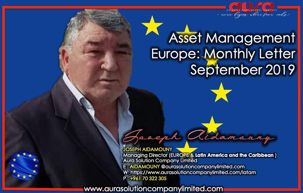 هالة إدارة الأصول أوروبا: رسالة شهرية - سبتمبر 2019: شركة شركة هالة الحل المحدودة