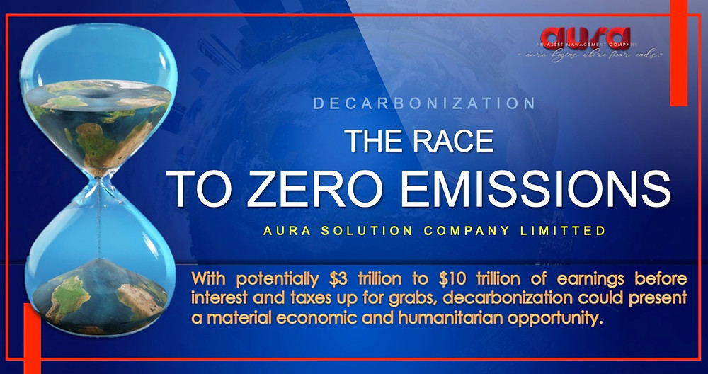 Decarbonization: The Race to Zero Emissions : Aura Solution Company Limited