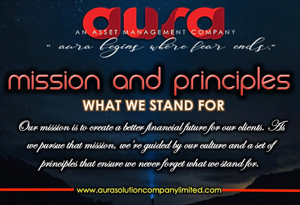 MISSION AND PRINCIPLES : Aura Solution Company Limited