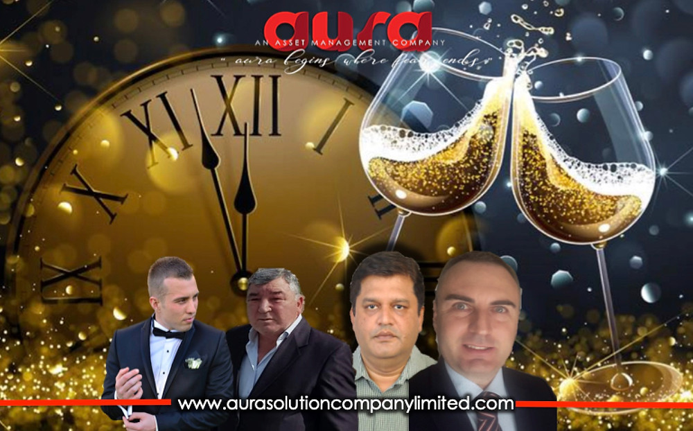 Wishing you all very Happy New Year : Aura Solution Company Limited