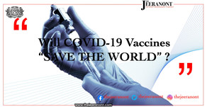 On pins and needles: Will COVID-19 vaccines 'save the world'? : The Jeeranont