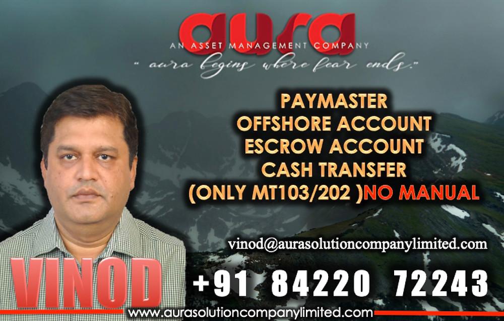 Vinod Prasad : Managing Director India : Aura Solution Company Limited