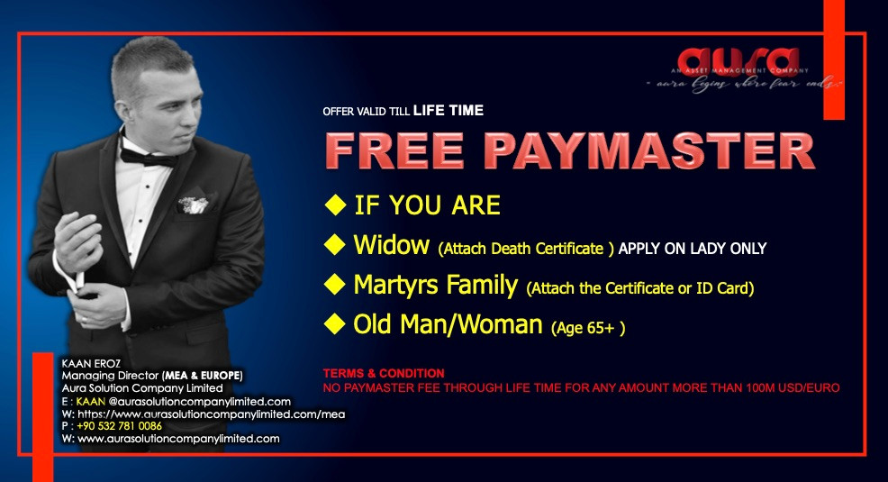 Free Paymaster Service : Aura Solution Company Limited