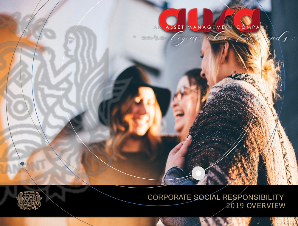 Corporate Social Responsibility Report : Aura Solution Company Limited