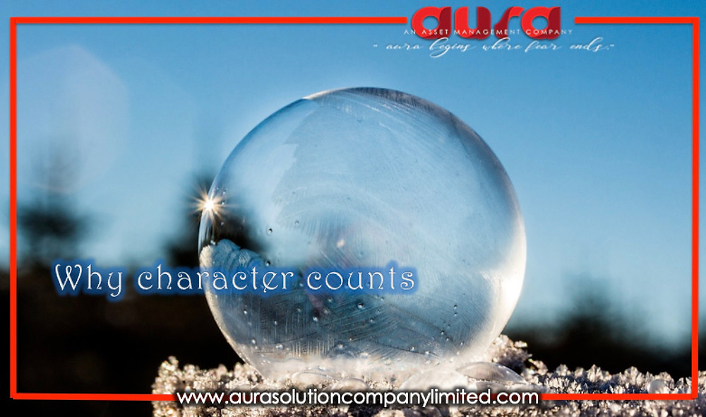 Why character counts ; Aura Solution Company Limited
