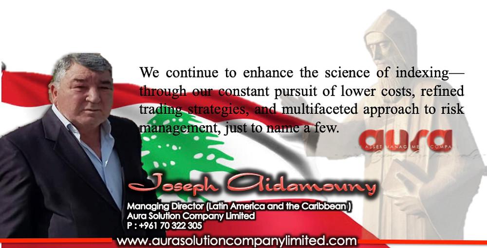 Index with Leaders : Joseph Aidamouny : Aura Solution Company Limited