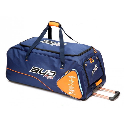 Sac de voyage à Roulettes Bud Racing Race Marine/Orange