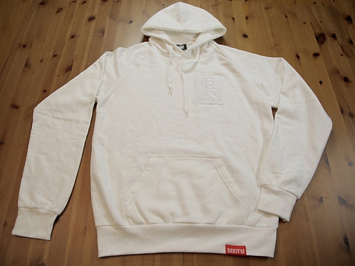 sweat WHITE LUCKY SPELL HOODIE