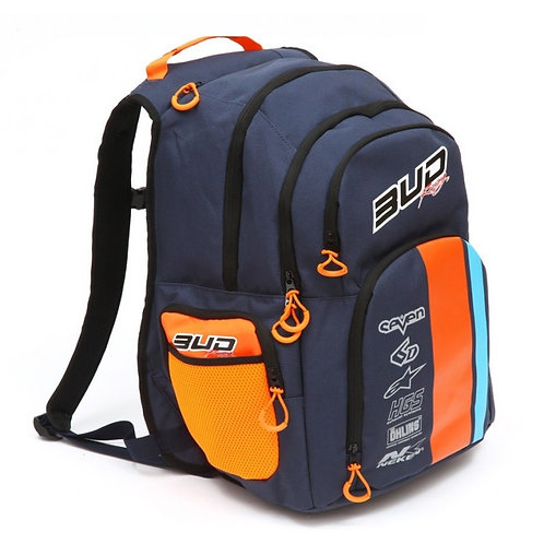 Sac à dos Multifonction Bud Racing Race Marine/Orange