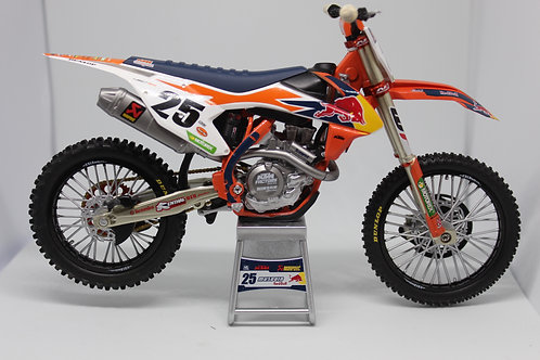 miniature REPLICA red bull marvin musquin