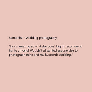 LySar Photography - Wedding Photography