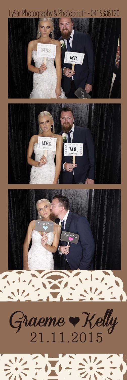 Mr & Mrs Brewer - Photobooth Hallidays Point