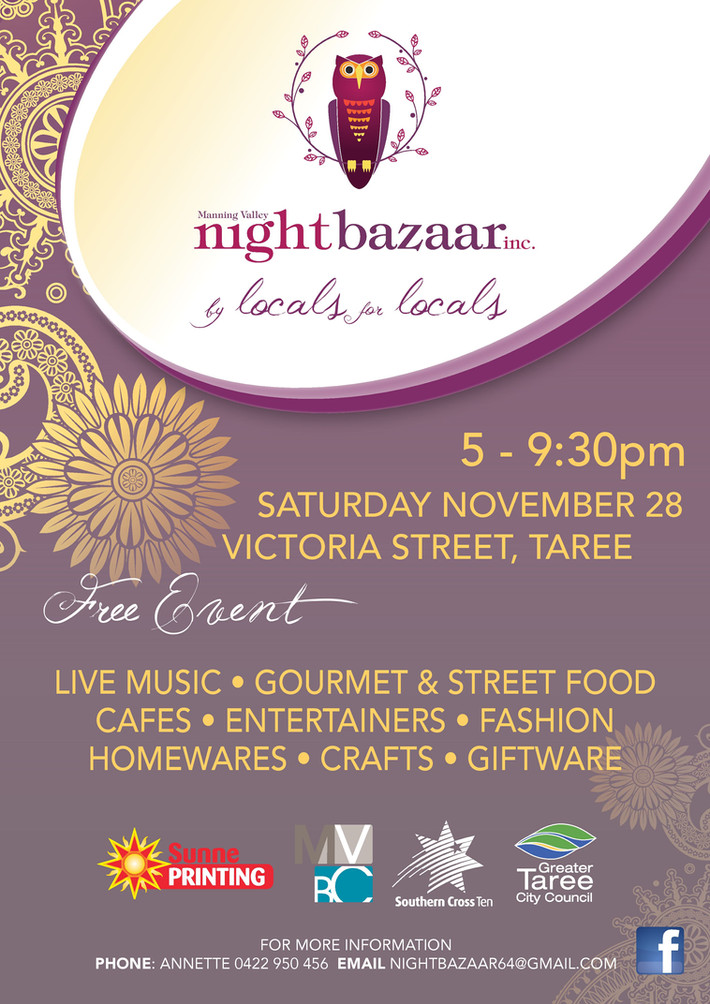 NIGHT BAZAAR - PHOTOBOOTH TAREE