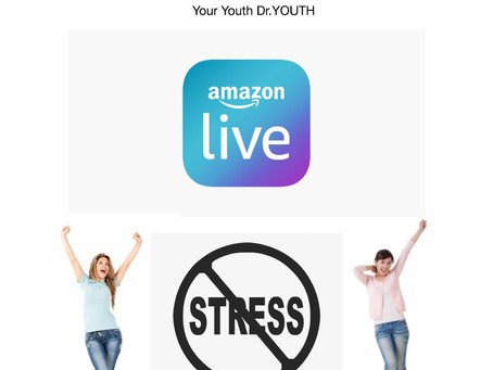 Watch Dr.YOUTH Aroma Live on Amazon Tomorrow!