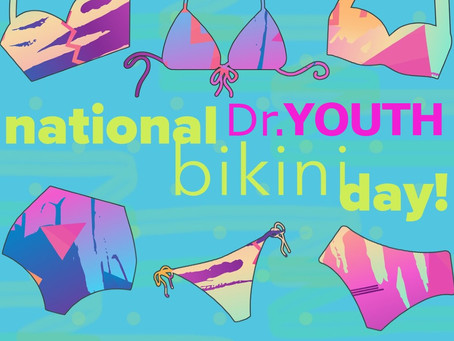 Enjoy the national bikini day with Dr.YOUTH Aroma Roll-on oil!