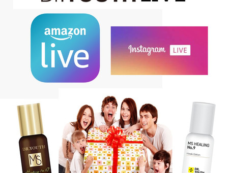 Amazon Live and Instagram Live will be started on May 20th.