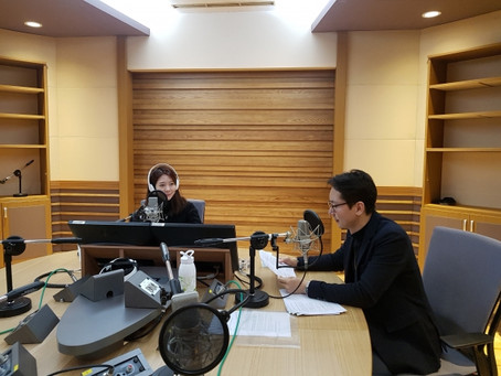CEO of Dr.YOUTH Dr.Yousoo Kim was on a radio channel [Healthy morning on MBC]. MBC 건강한 아침 녹음하고 왔습니다.