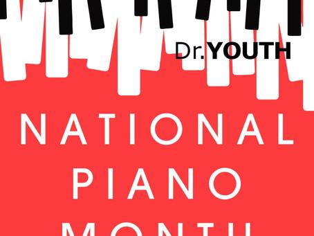9월은 내셔널 피아노달이에요 피아노 치기 전 손에 닥터유스를 발라주세요! September is National Piano Month!