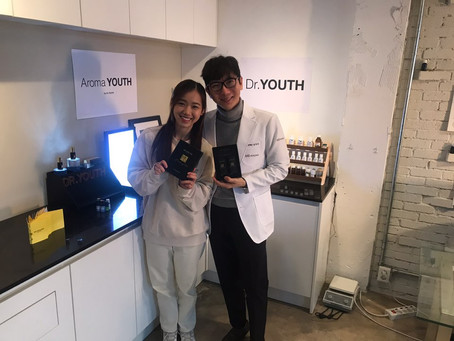 Arirang TV, Meichan and Dr.YOUTH filmed about Dr.YOUTH Aroma roll-on Oil.