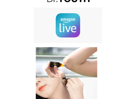 Watch Dr.YOUTH Amazon Live on Friday!