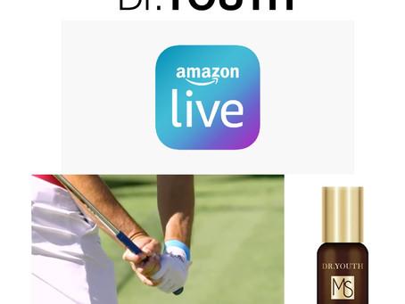 Watch Dr.YOUTH Aroma Amazon Live Tomorrow!