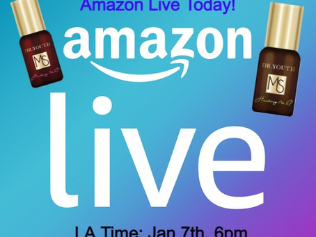 Watch our Today's Amazon Live
