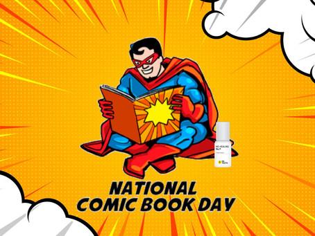 It's National Comic Book Day! 책 읽기 전후로 바르면 몸이 편안해지는 닥터유스 아로마롤온 천연오일!