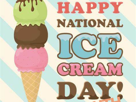 Enjoy National Ice Cream day with Dr.YOUTH Aroma Roll-on Oil!