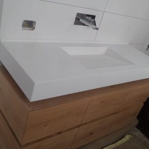 כיור קוריאן לאמבטיה משטח מלבני