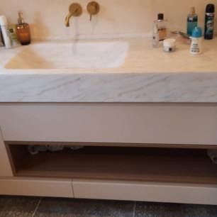 כיור קוריאן לאמבטיה עיצוב שיש