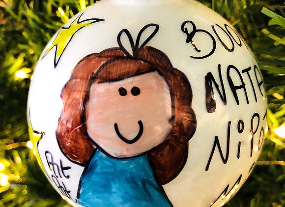 Palla di Natale Nipotina