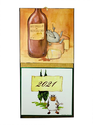 Calendario Topo Brunello