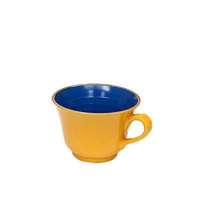 Tazza latte colorata