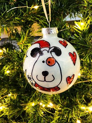 Palla di Natale Cane
