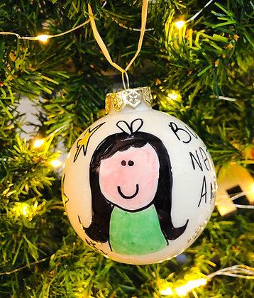 Palla di Natale Amica