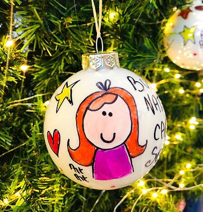 Palla di Natale Sorella