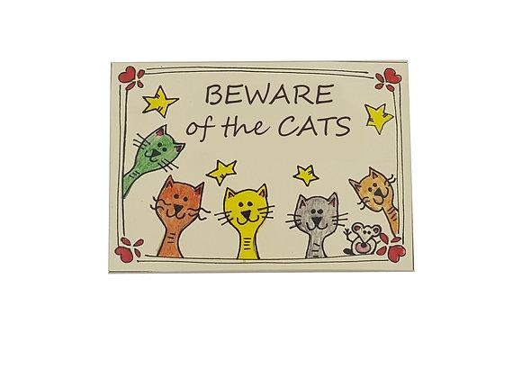 Beware the Cat Sign