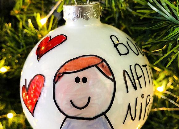 Palla di Natale Nipotino