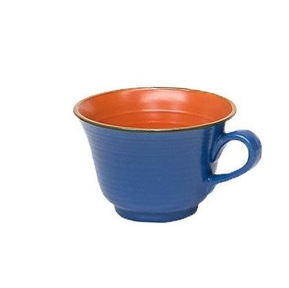 Tazza da colazione blu