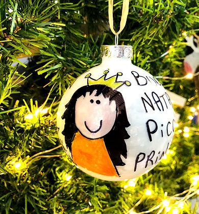 Palla di Natale Principessa