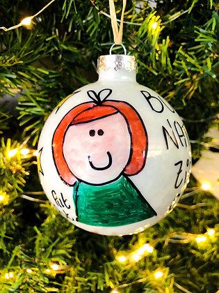 Palla di Natale Zia