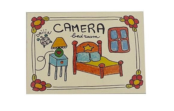 Targhetta Camera