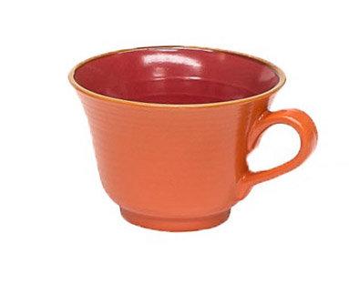 Tazza da colazione arancio