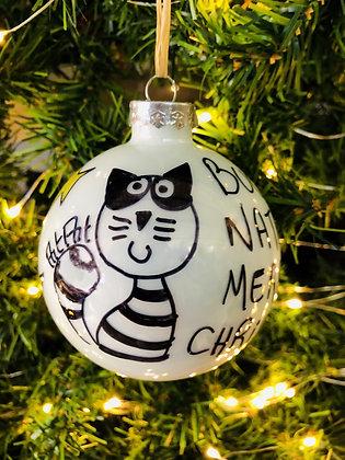 Palla di Natale Gatto
