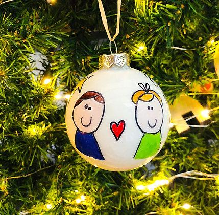 Palla di Natale Zii