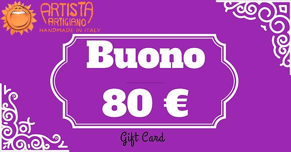Gift Card 80 €
