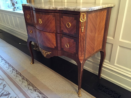 French Second Empire Period Transitional-style commode