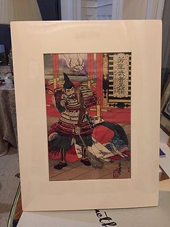 "ORIGINAL JAPANESE WOODBLOCK PRINT by ""YOSHITOSHI"""