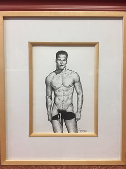 """Black Trunks"" by Douglas Simonson, 1996"